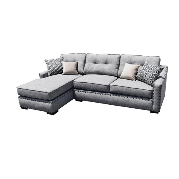 Gordy Left Hand Facing Sectional By Alcott Hill