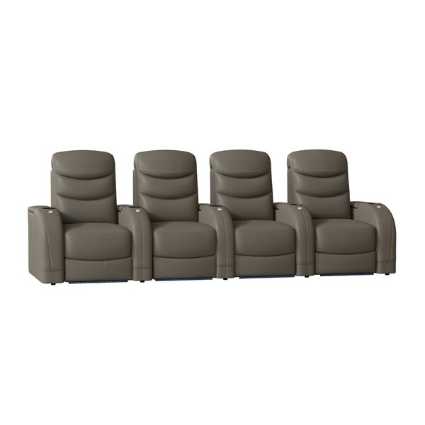 Stealth HR Series Home Theater Recliner (Row Of 4) By Winston Porter