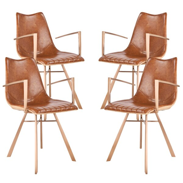 Brockington Upholstered Dining Chair (Set of 4) by Corrigan Studio