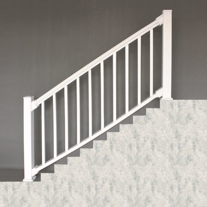Xpanse Select Vinyl Railing Stair Bracket Set of 4
