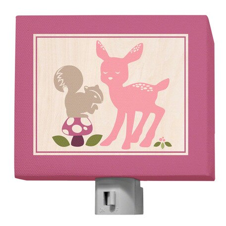 Enchanted Forest Best Friends Night Light by Oopsy Daisy