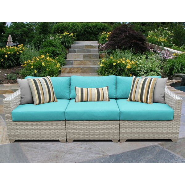 Volney Patio Sofa with Cushions by Sol 72 Outdoor Sol 72 Outdoor