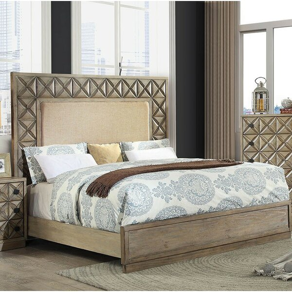 Marilynn Upholstered Standard Bed by Bungalow Rose