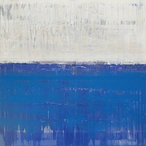 Scapes Series: Littoral Painting Print on Wrapped Canvas by East Urban Home