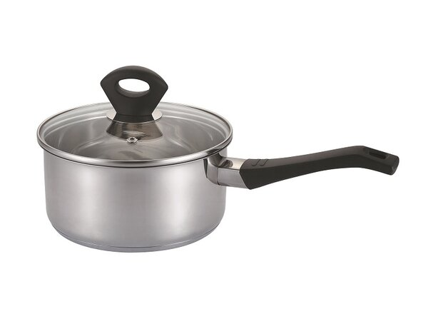 Stainless Steel Saucepan with Lid by Wee's Beyond