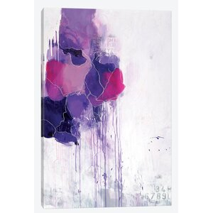 Hot Mess Painting Print on Wrapped Canvas by East Urban Home
