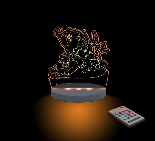 Warner Bros. Looney Tunes, Baby Group Night Light by CompassCo