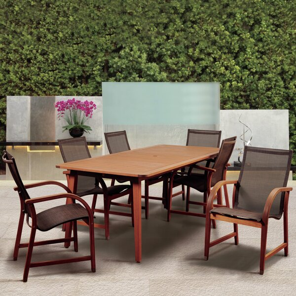 Hillsford 7 Piece Dining Set by Beachcrest Home