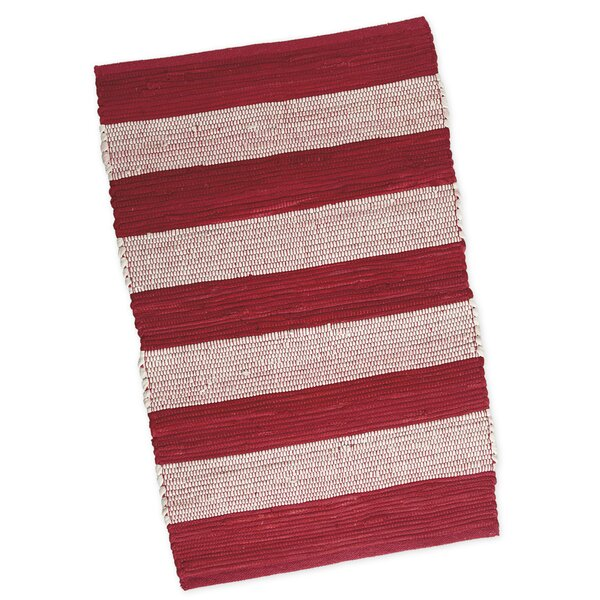 Chindi Hand-Woven Red Area Rug by Design Imports