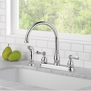 Delta Windemere Double Handle Standard Kitchen Faucet