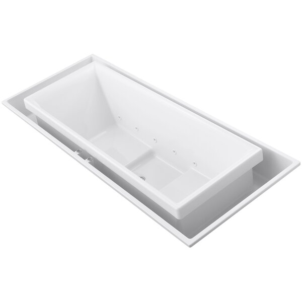 Sok 104 x 41 Drop-In Effervescence Bath with Center Drain by Kohler