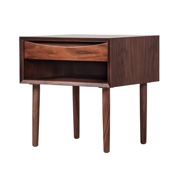 Weiss 1 Drawer Nightstand by Corrigan Studio