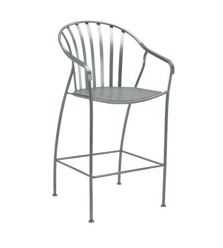Valencia Stationary 29 Patio Bar Stool by Woodard