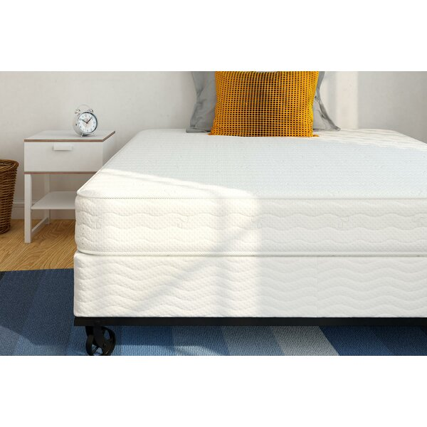 7 Folding Metal Box Spring by Alwyn Home