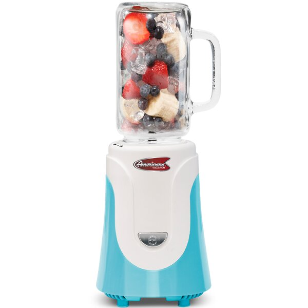 Americana Glass Personal Drink Blender by Elite by Maxi-Matic