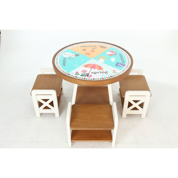 Seasons Circular Activity Table by Happy Child Furniture