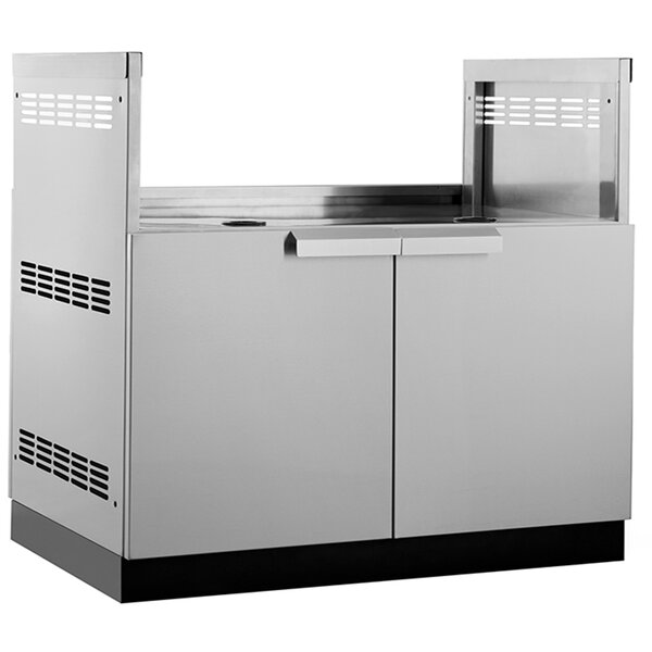 Outdoor Kitchen Stainless Steel Insert Grill Cabinet by NewAge Products