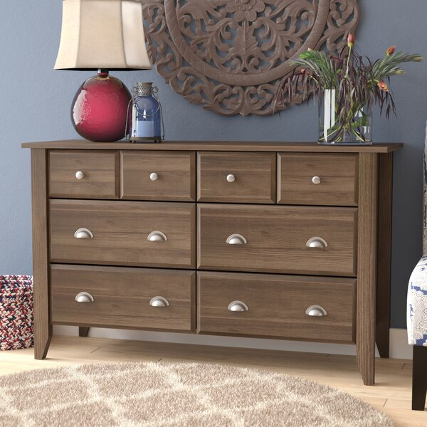 Revere 6 Drawer Dresser by Andover Mills