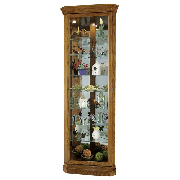 Braud Corner Curio Cabinet by Darby Home Co