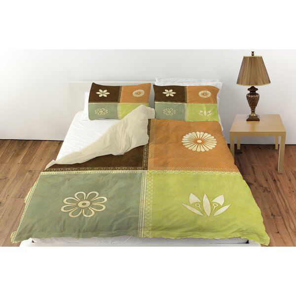 Graphic Garden Sage Duvet Cover Collection