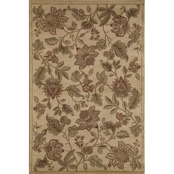 Allston Cream/Gray Area Rug by Threadbind