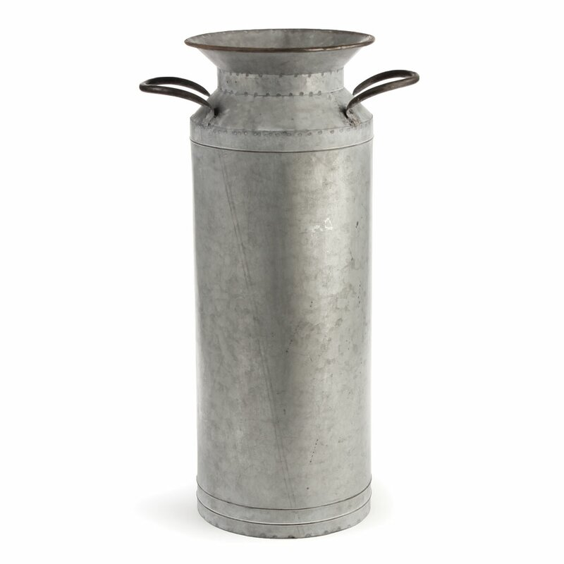 Steed Vintage Zinc Pot Planter