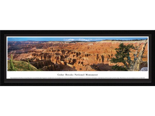 National Park Cedar Breaks National Park by James Blakeway Framed Photographic Print by Blakeway Worldwide Panoramas, Inc