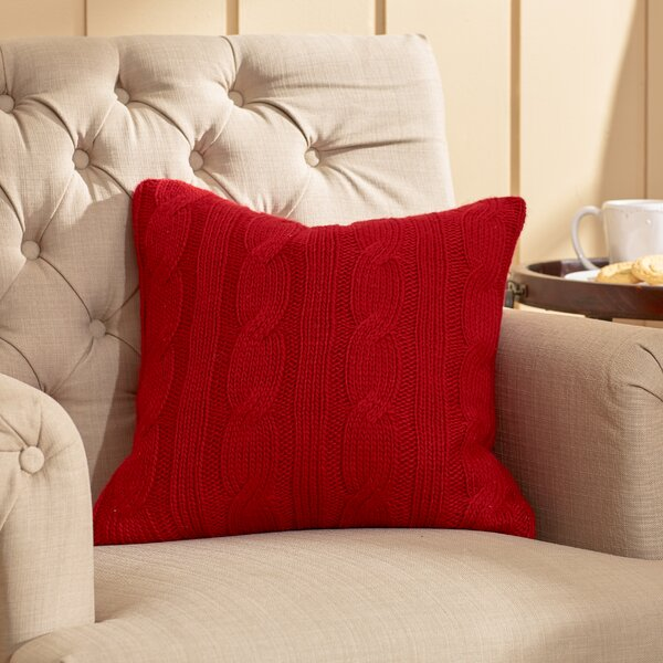 Davis Throw Pillow by Three Posts