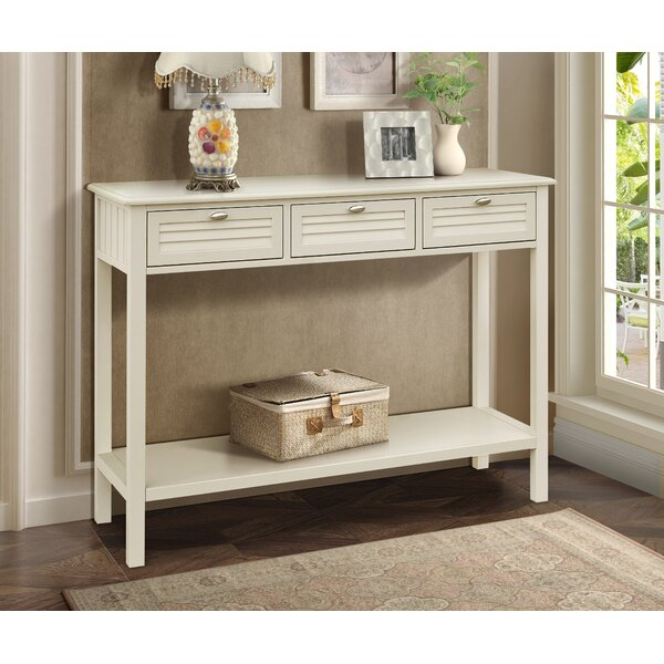 Dvorak Console Table by Rosecliff Heights