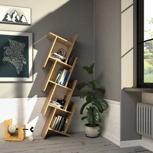 Manawa Floating Geometric Bookcase