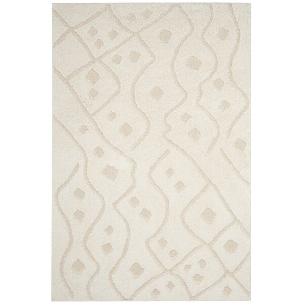 Atisha Ivory Area Rug by Gracie Oaks