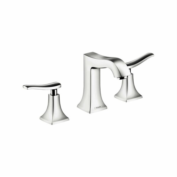 Metris C Two Handles Widespread Standard Bathroom Faucet by Hansgrohe