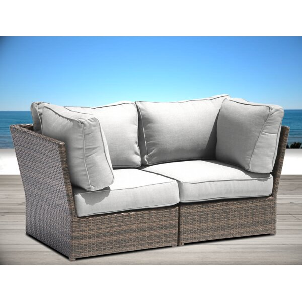 Almyra Loveseat with Cushions by Sol 72 Outdoor Sol 72 Outdoor