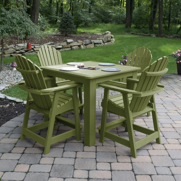 Magaw 5 Piece Dining Set by Longshore Tides
