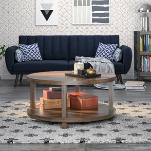 Oakdale Coffee Table with Tray Top and Storage