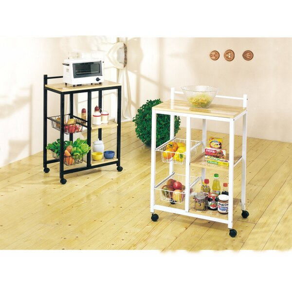 Galle Storage Kitchen Cart by Ebern Designs