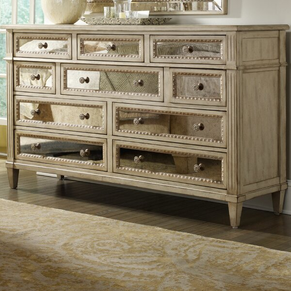 Sanctuary 10 Drawer Dresser by Hooker Furniture