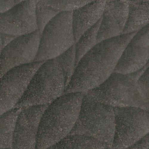 Quarz Strata 12 x 36 Ceramic Tile in Antracita by Madrid Ceramics