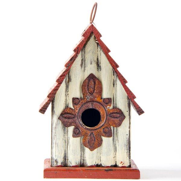 Coastal Free Standing Birdhouse by Glitzhome