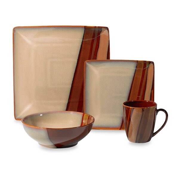 Avanti 16 Piece Dinnerware Set, Service for 4 by Sango