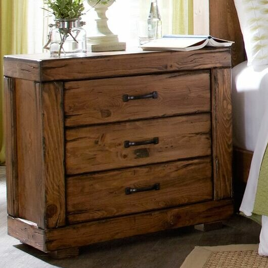 Nyla 3 Drawer Bachelors Chest by Union Rustic