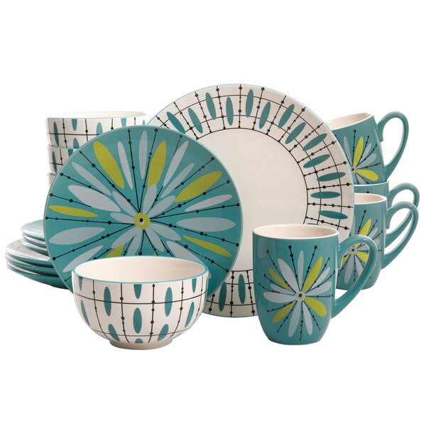 Glynda 16 Piece Dinnerware Set, Service for 4 by Ebern Designs