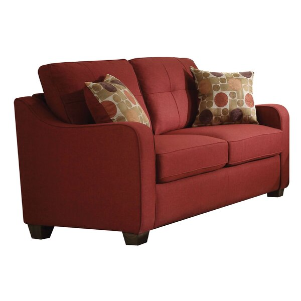 Orchard Hill 59-inch Recessed Arm Loveseat By Winston Porter