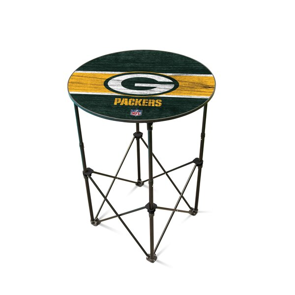NFL Round Folding Table by Wild Sports