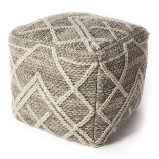 Hoffman Pouf by Gracie Oaks