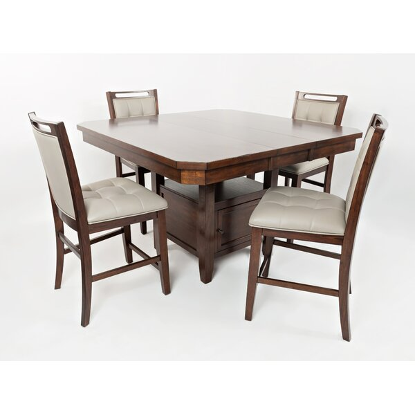 Johnsburg 5 Piece Dining Set by Red Barrel Studio Red Barrel Studio