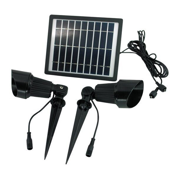 4-Piece Spot Light Set by Solar Goes Green