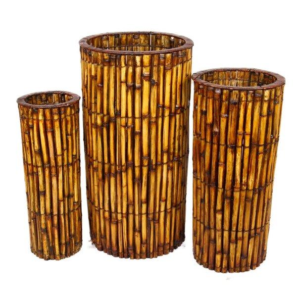 3-Piece Pot Planter Set by ESSENTIAL DÉCOR & BEYOND, INC
