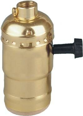 On - off Turn Knob Lamp Holder by Morris Products