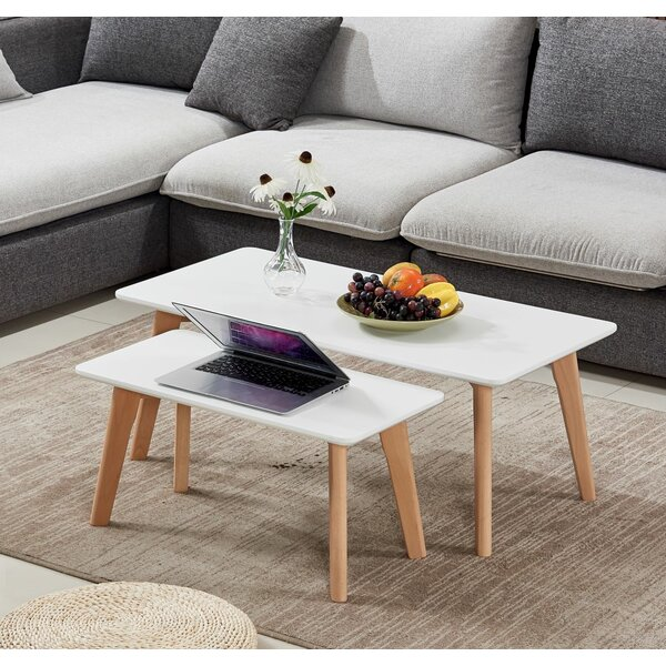 Brayton 2 Piece Coffee Table Set by George Oliver George Oliver